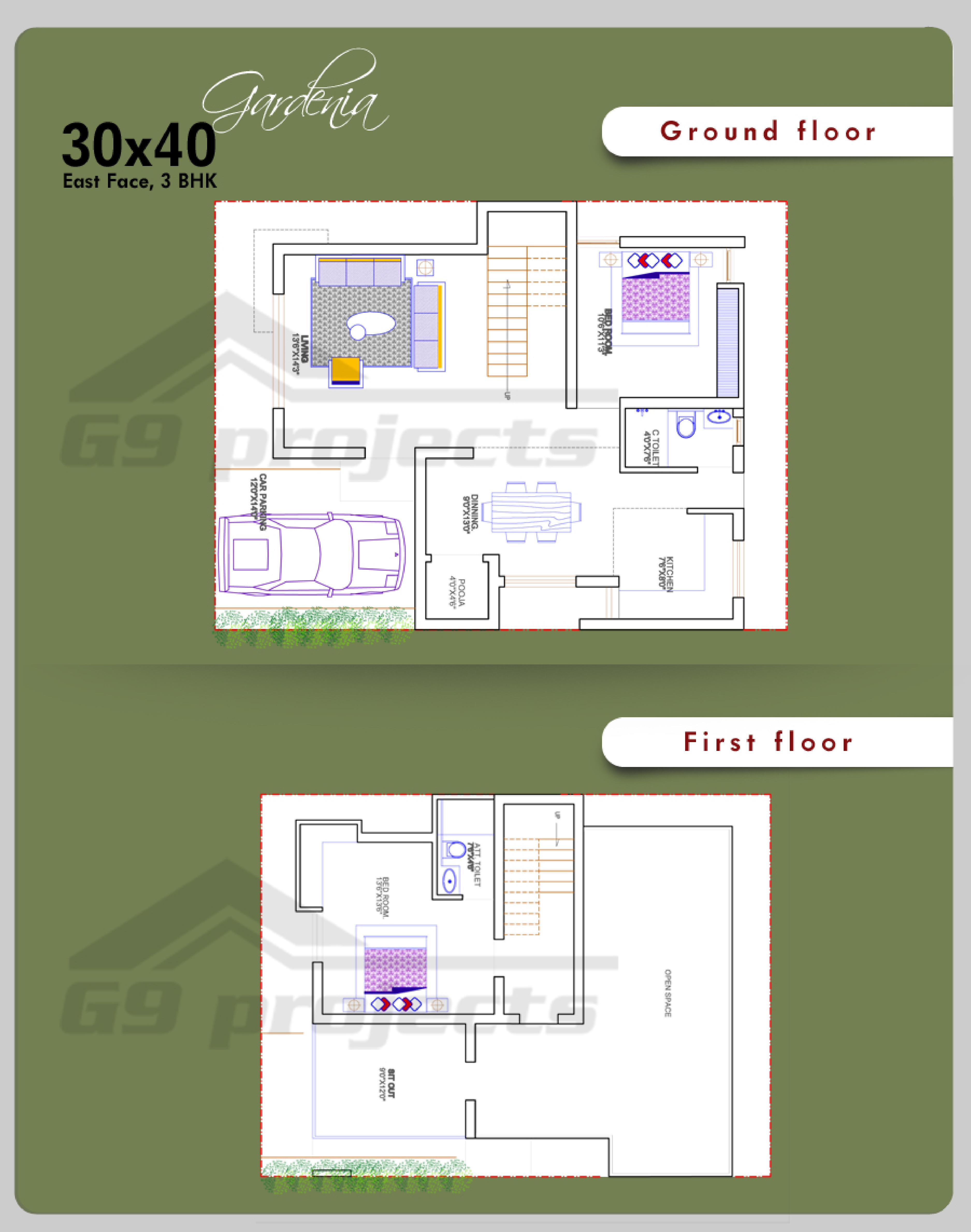 Floor Plan For 30x40 Site 28 Images 30 215 50 House