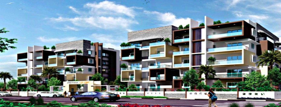 High rise residential apartment complex siddhartha for Apartment complex layout