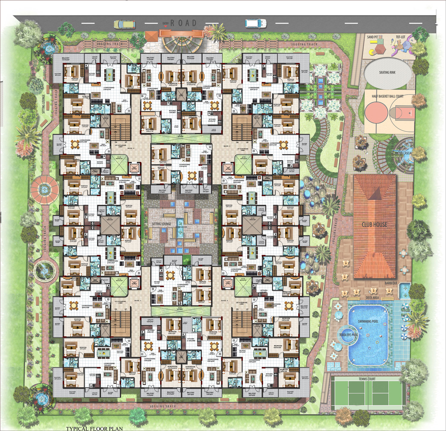 Ultra Luxury Apartment Complex Lalith Mahal Mysore One