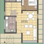 Unitech Palace Court Ground Floor Plan 5BHK 2,116 Sq Ft