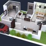 Rishabh Millennium Bharathi Enclave Floor Plan