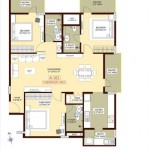 Foundation Silver Springs 3 BHK